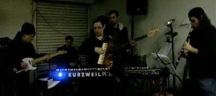 The Breslov Bar Band performing at Cholent