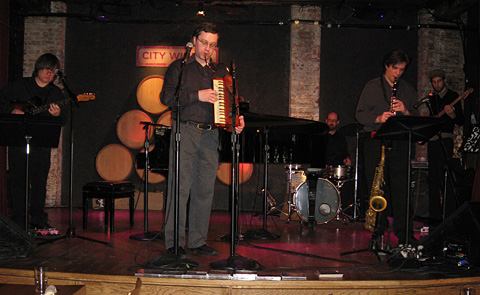 The Breslov Bar Band performing at City Winery