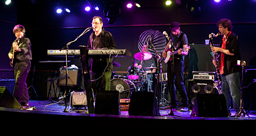 Breslov Bar Band performing at the Knitting Factory